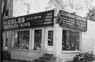 Our store in 1959